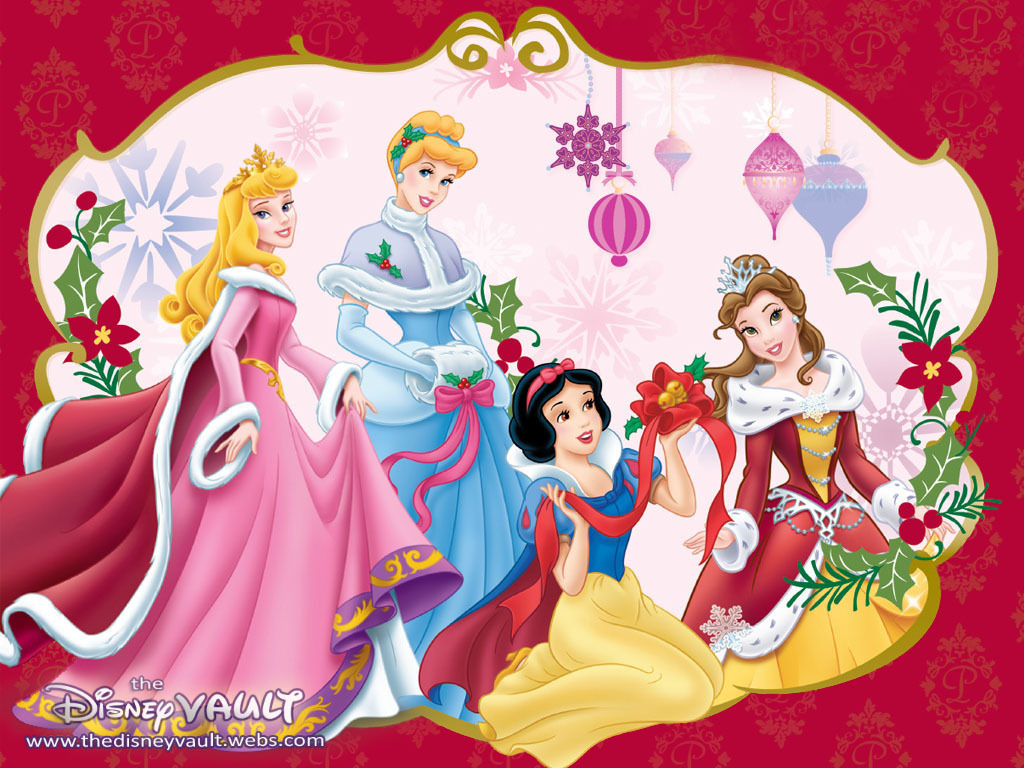 Christmas Princess.Disney Princess Christmas Walt Disney Characters 21174218